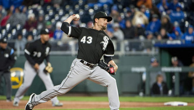 Danny Farquhar suffered a brain aneurysm during the White Sox's game against the Houston Astros on April 20 after he faced four batters in a relief appearance.