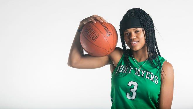 Destanni Henderson, Fort Myers High School, Basketball All-Area