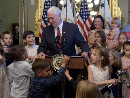 AP PENCE MILITARY FAMILIES A USA DC