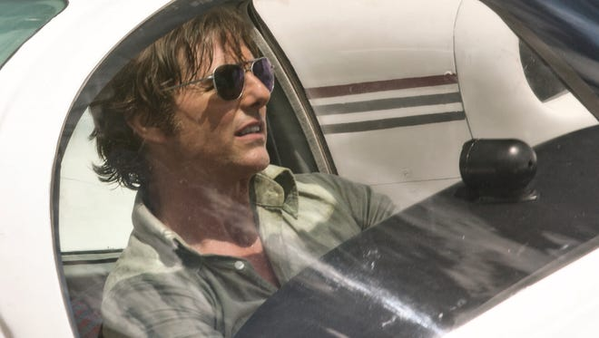 """Tom Cruise plays a pilot recruited to take part in a covert drug operation in """"American Made."""""""