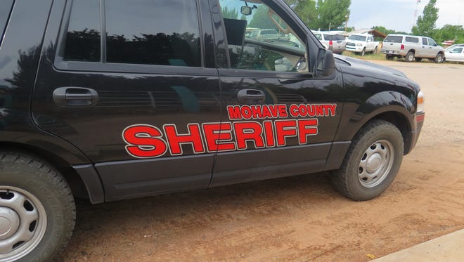 A Mohave County Sheriff's vehicle patrols in this file photo.