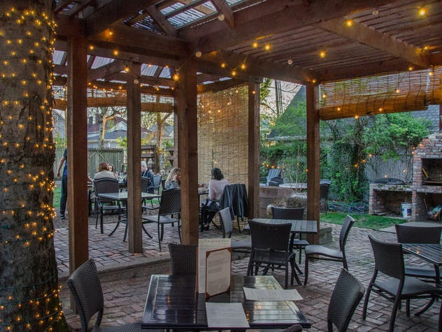 Marvelous Grab A Spot On The Secluded Patio At Rumours East.