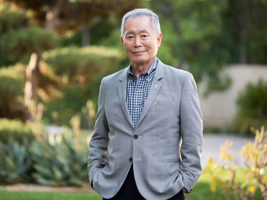 George Takei, photographed outside his Los Angeles home on Feb. 13.