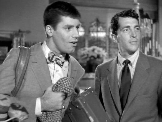 Jerry Lewis and Dean Martin in 'The Caddy.'