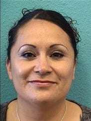 Felicita Lara turned herself in to police Sunday after