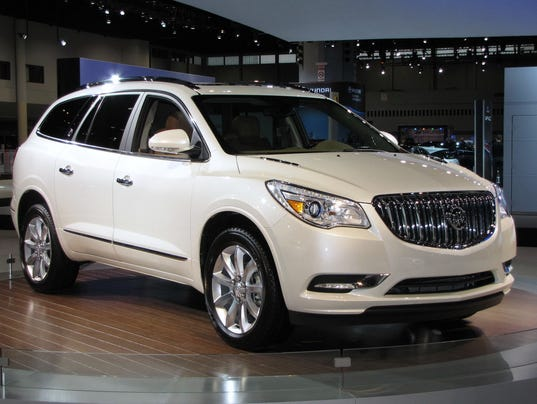 Cars With A Third Row >> Elegant Functionality: 2015 Buick Enclave crossover