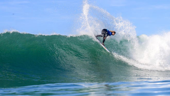 Melbourne Beach native Caroline Marks is the youngest surfer to ever qualify for the Women's World Championship Surfing Tour.