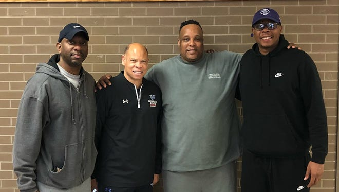 Central legends (from left): Cedric VanLeer, Ray McCallum, Chandler Thompson and Bonzi Wells