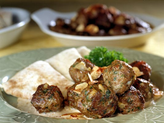 Bored with chicken? Try this: Lamb meatballs with red or white wine