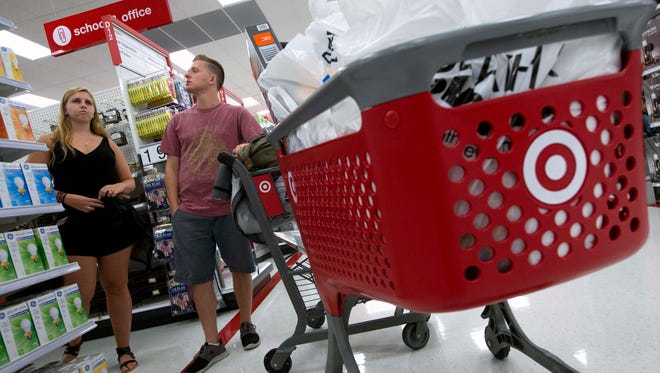 Target reported first quarter earnings Wednesday.
