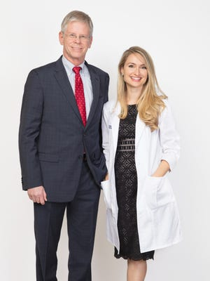 Vanessa Johnson and her family have gone to Dr. Larry Bishop for years. Now, Johnson is a Health First dermatologist, too.