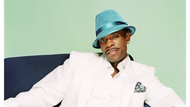 Keith Sweat performs Friday at Alabama State University.