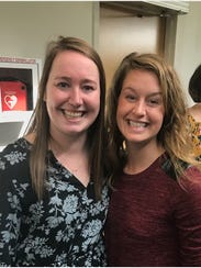 Medical student Grace Murray, left, was joined by family