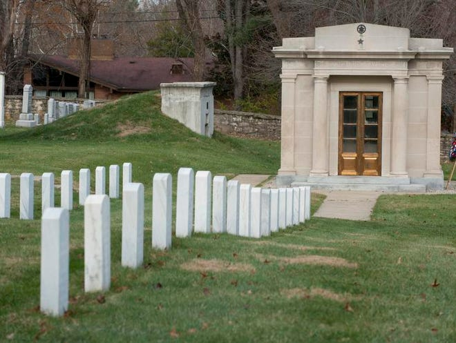 The tomb of President Zachary Taylor.  Nov. 25, 2013