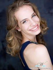 Miss Harbor Cities Outstanding Teen Sarah Niehueser