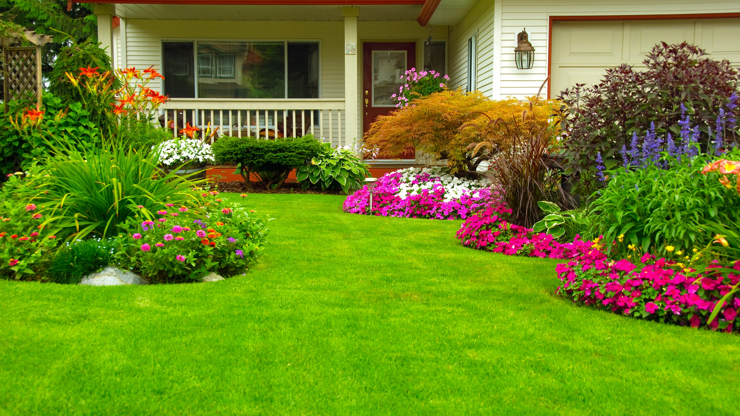 Beautiful when to Fertilize Lawn
