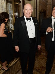 """School of Rock"" Tony-nominated playwright Julian Fellowes attends the after party for the 2016 Tony Awards Gala presented by Porsche at the Plaza Hotel on June 12, 2016 in New York City."