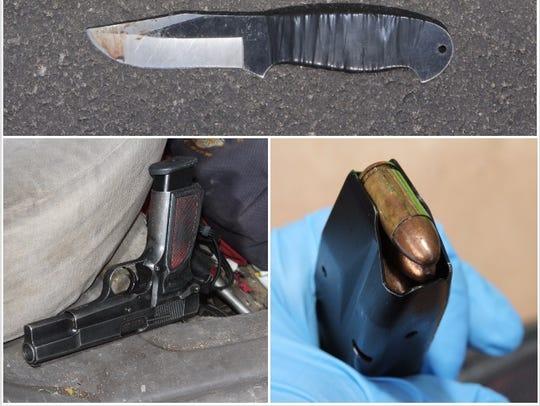 Investigators recovered the 9-mm handgun from Ernesto