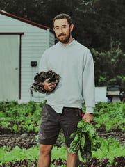 Mike Meier, co-owner and head farmer at Ground Floor Farm in Stuart, is running for Stuart City Commission.