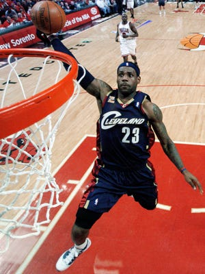 LeBron James decided to return to the Cavaliers, whom he last played for in 2010.