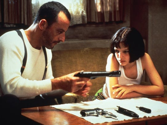 "Jean Reno and Natalie Portman star in ""Léon: The Professional"""