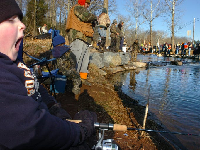 When does trout season start in southcentral pa for Pa fishing season