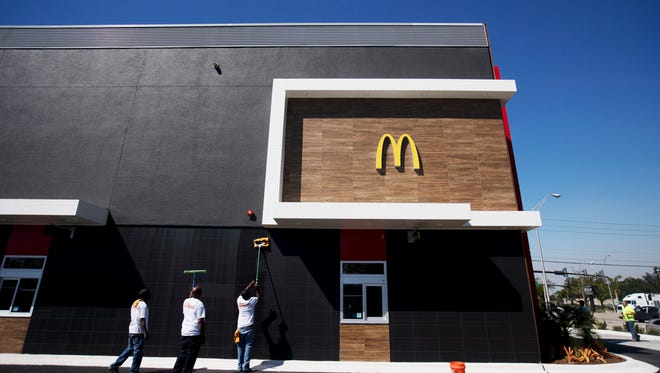 McDonald's franchise owner Tim Fenton is ready to open a two-story restaurant on the corner of Summerlin Road  and Colonial Boulevard. The two-story restaurant is only the second of its kind in the nation, after one near Logan International Airport in Boston, though there are others like it in large Asian cities, where real estate comes at a premium.