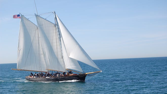 On May 14 and 15, tour and sail aboard America, a replica of the schooner that launched the America's Cup tradition.