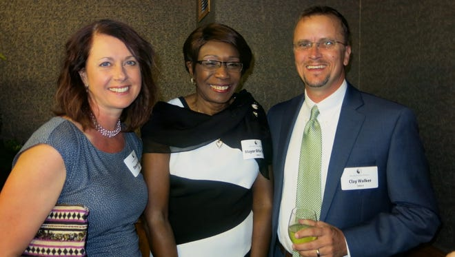 Sherry Walker, Shreveport Mayor Ollie Tyler and Clay Walker at Reconciliation Dinner