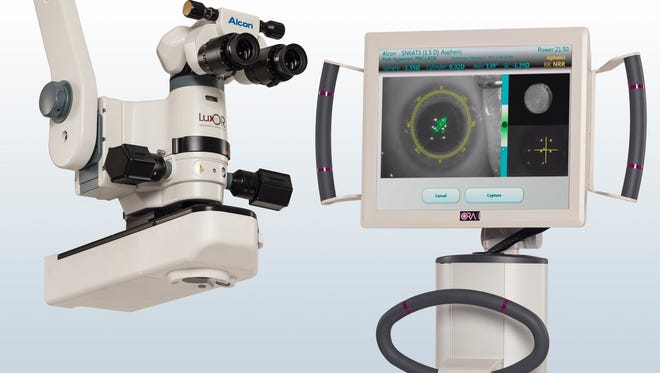 ORA (Optiwave Refractive Analysis) surgery at P&S Surgical Hospital, northeast Louisiana's only facility to offer the new technology.