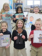 St. Mary Elementary School students are studying famous