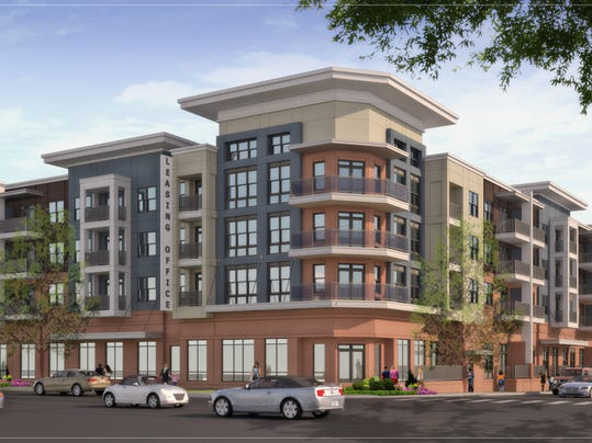 320 unit apartment community coming to berry hill for Multi unit apartment plans