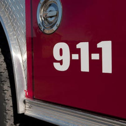 A firefighter suffered a weather related injury while