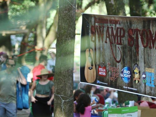 Swamp Stomp, in its 37th year, drew a few dozen people