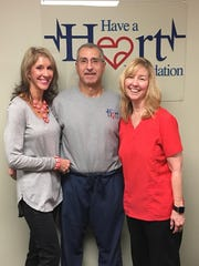 Sandy Imburgia, left, Dr. Michael Imburgia, and Susan Dillon are the founders of the Have a Heart Foundation.