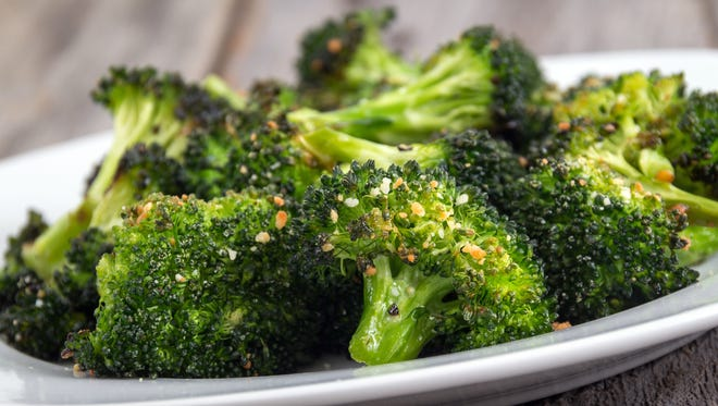 Steam freshly cut broccoli and serve with a sprinkle of sea salt and a drizzle of lemon juice, or shake on a little garlic and Parmesan.