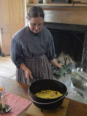 Guests to Wade House's 'Breakfast at the Inn' on Saturday, Aug. 19, will enjoy a  hearth-cooked meal, prepared with their own hands, in the historic Wade House stagecoach hotel.