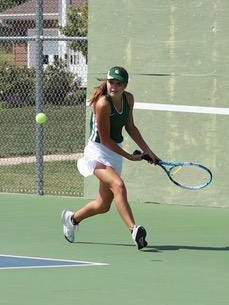 Chapman freshman Elyssa Frieze has been dominant so far in 2020. Playing No. 1 singles for the Irish, Frieze is 11-0 and won titles at Ellsworth and Clay Center last week.