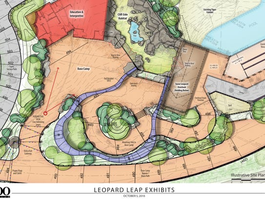 A rendering of the new Leopard Leap exhibit at the