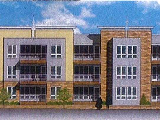 A drawing by Mudrovich Architects of a forthcoming