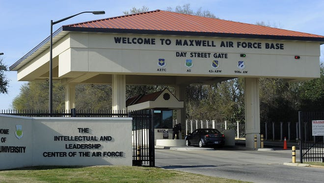 Maxwell Air Force Base will lose 31 jobs as part of the military's plans to save $1.6 billion under a Defense Department directive to slash its costs and staff by at least 20 percen