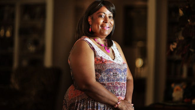 Breast cancer survivor Polly Edwards, 64, talks about her fight against cancer at her Bartlett Home last week. Memphis no longer has the largest disparity in mortality rates between white and black breast-cancer patients of any large city in America, and a new consortium is helping narrow the gap further.