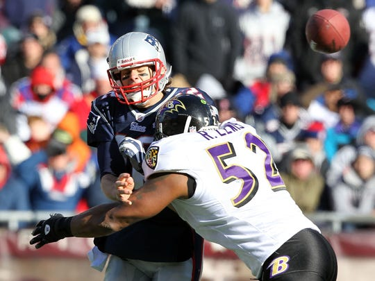 Baltimore Ravens v New England Patriots - Wild Card Round