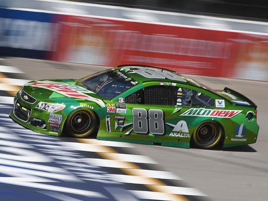 Dale Earnhardt Jr., pictured during qualifying Friday,
