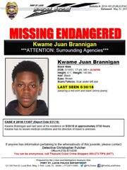 Port St. Lucie police are searching for Kwame Juan