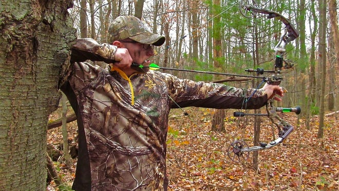 The aiming point on a real deer can at times vary drastically from a 3-D target's vitals. Bowhunters should always take into consideration the angle of the shot before releasing an arrow.
