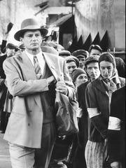 """Liam Neeson stars in """"Schindler's List."""""""