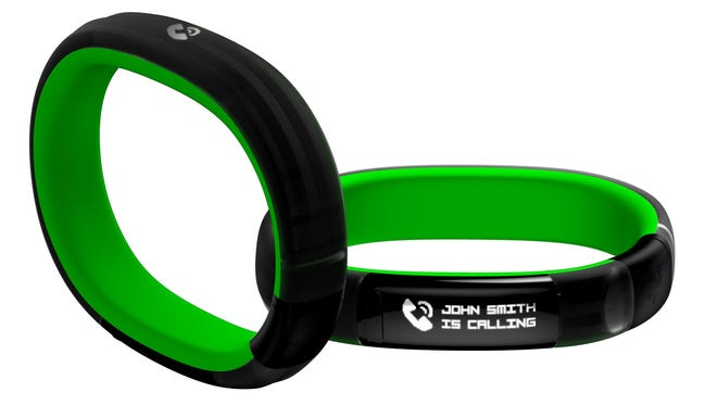 The Razer Nabu, a new smart band, serves as a cross between a smartwatch and a fitness band.