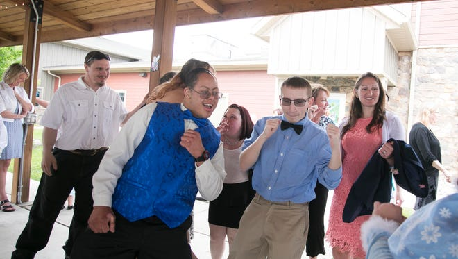 Lincoln Intermediate Unit Prom held at Leg Up Farm in Mount Wolf Friday, May 20, 2016.  Amanda J. Cain photo