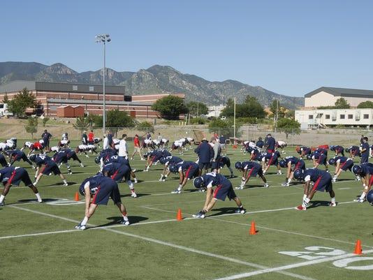 UA training camp Fort Huachuca